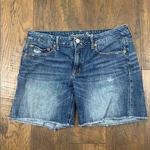 American Eagle Bermuda jean shorts
